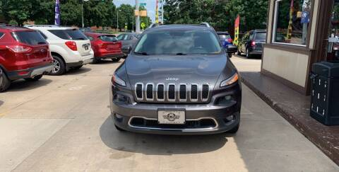 2014 Jeep Cherokee for sale at Mulder Auto Tire and Lube in Orange City IA