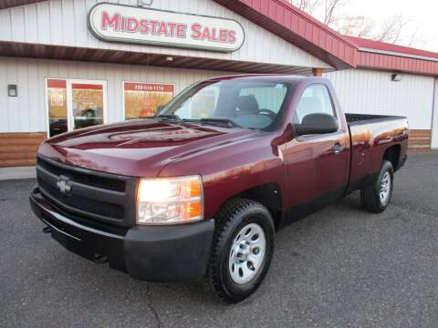 2009 Chevrolet Silverado 1500 for sale at Midstate Sales in Foley MN
