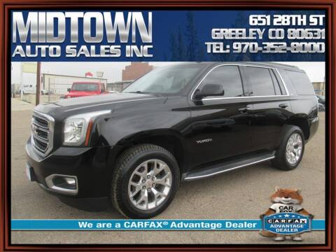 2015 GMC Yukon for sale at MIDTOWN AUTO SALES INC in Greeley CO