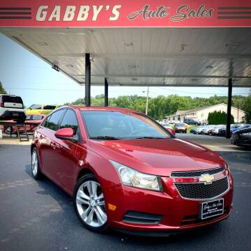 2011 Chevrolet Cruze for sale at GABBY'S AUTO SALES in Valparaiso IN