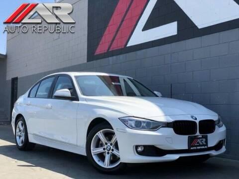 2015 BMW 3 Series for sale at Auto Republic Fullerton in Fullerton CA