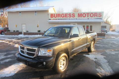 2011 RAM Dakota for sale at Burgess Motors Inc in Michigan City IN