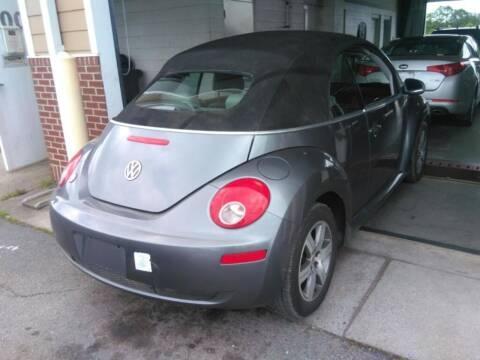 2006 Volkswagen New Beetle Convertible for sale at HW Auto Wholesale in Norfolk VA