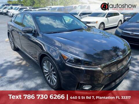 2017 Kia Cadenza for sale at AUTOSHOW SALES & SERVICE in Plantation FL