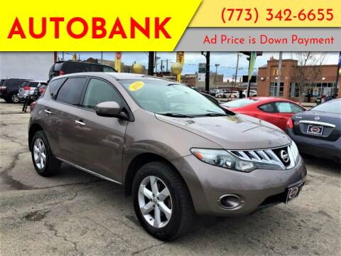 2010 Nissan Murano for sale at AutoBank in Chicago IL