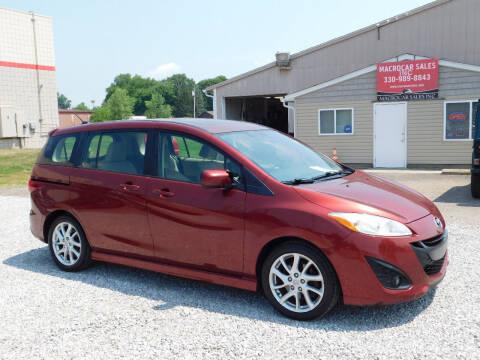2012 Mazda MAZDA5 for sale at Macrocar Sales Inc in Akron OH
