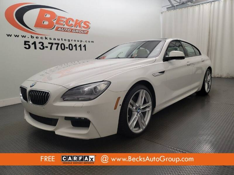 2014 BMW 6 Series for sale at Becks Auto Group in Mason OH
