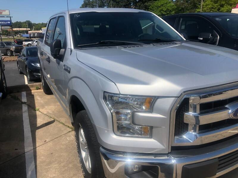 2016 Ford F-150 for sale at A & K Auto Sales in Mauldin SC
