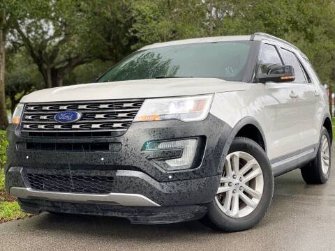 2017 Ford Explorer for sale at HIGH PERFORMANCE MOTORS in Hollywood FL