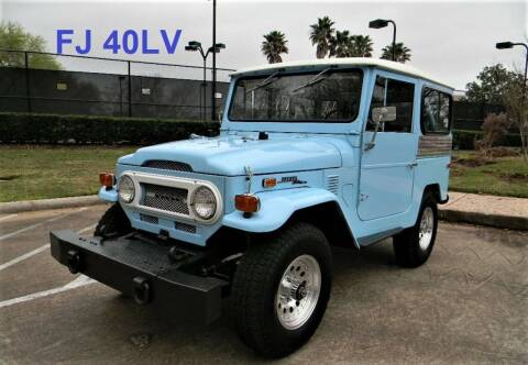 1972 Toyota Land Cruiser for sale at AUTO LIQUIDATORS OF TEXAS in Richmond TX