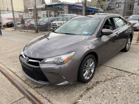 2015 Toyota Camry for sale at Luxury 1 Auto Sales Inc in Brooklyn NY