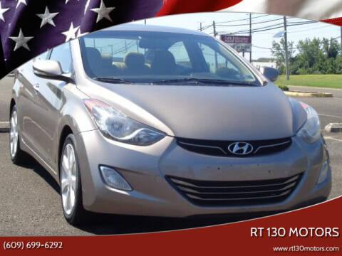 2013 Hyundai Elantra for sale at RT 130 Motors in Burlington NJ