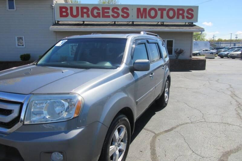 2009 Honda Pilot for sale at Burgess Motors Inc in Michigan City IN
