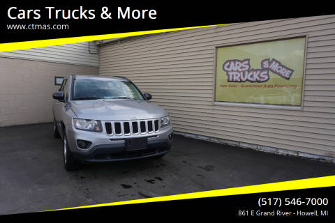 2017 Jeep Compass for sale at Cars Trucks & More in Howell MI