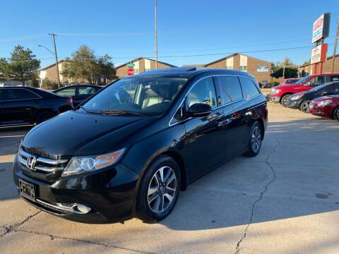 2014 Honda Odyssey for sale at Car Gallery in Oklahoma City OK