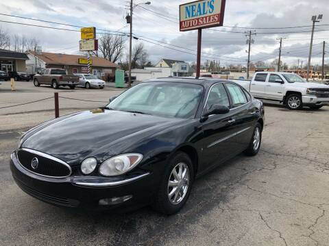 2007 Buick LaCrosse for sale at Neals Auto Sales in Louisville KY