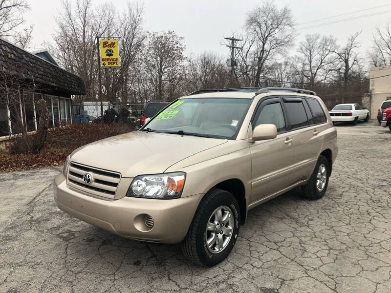 2007 Toyota Highlander for sale at BELL AUTO & TRUCK SALES in Fort Wayne IN