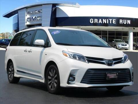 2018 Toyota Sienna for sale at GRANITE RUN PRE OWNED CAR AND TRUCK OUTLET in Media PA