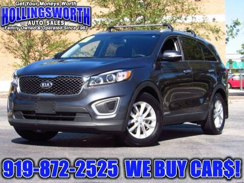2017 Kia Sorento for sale at Hollingsworth Auto Sales in Raleigh NC