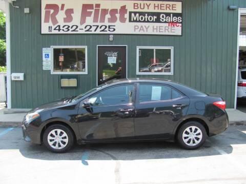 2014 Toyota Corolla for sale at R's First Motor Sales Inc in Cambridge OH