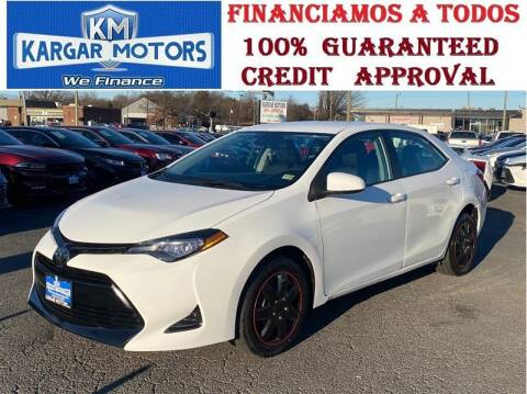 2017 Toyota Corolla for sale at Kargar Motors of Manassas in Manassas VA