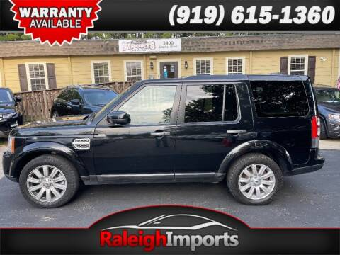 2013 Land Rover LR4 for sale at Raleigh Imports in Raleigh NC