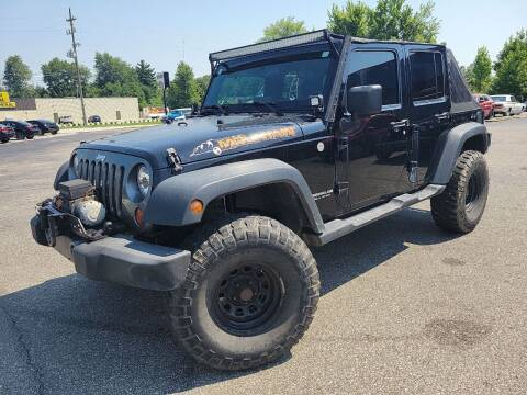 2010 Jeep Wrangler Unlimited for sale at Cruisin' Auto Sales in Madison IN