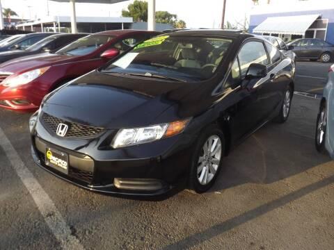 2012 Honda Civic for sale at PACIFICO AUTO SALES in Santa Ana CA