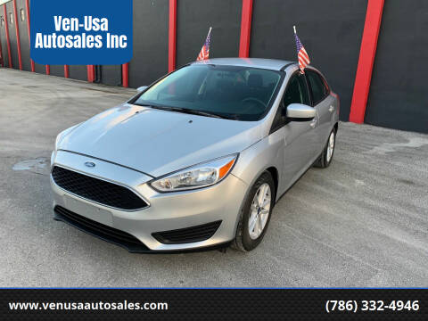 2018 Ford Focus for sale at Ven-Usa Autosales Inc in Miami FL