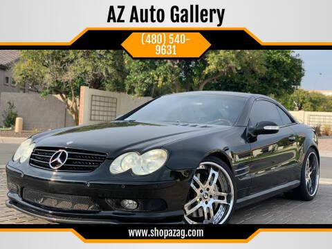 2003 Mercedes-Benz SL-Class for sale at AZ Auto Gallery in Mesa AZ