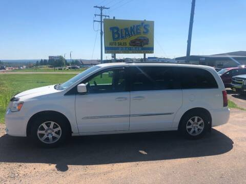 2011 Chrysler Town and Country for sale at Blakes Auto Sales in Rice Lake WI