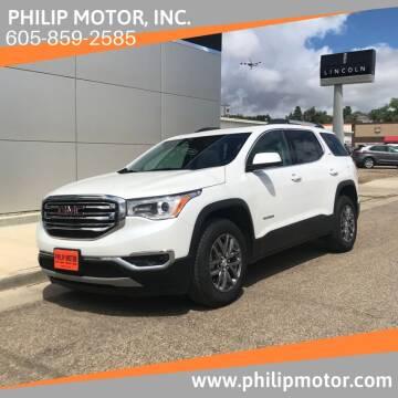 2019 GMC Acadia for sale at Philip Motor Inc in Philip SD