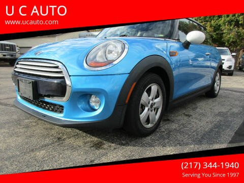 2015 MINI Hardtop 2 Door for sale at U C AUTO in Urbana IL