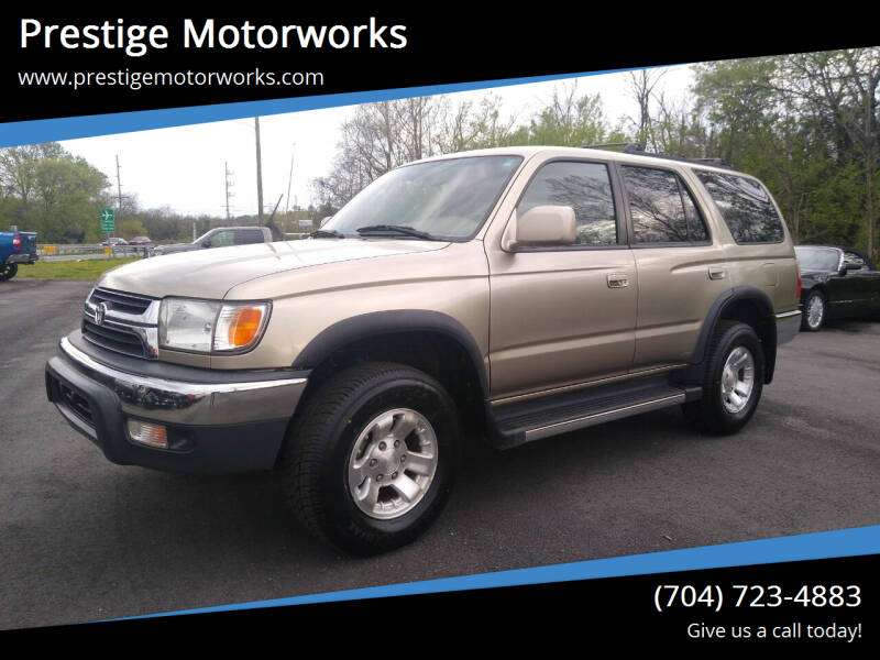 2001 Toyota 4Runner for sale at Prestige Motorworks in Concord NC