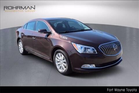 2016 Buick LaCrosse for sale at BOB ROHRMAN FORT WAYNE TOYOTA in Fort Wayne IN