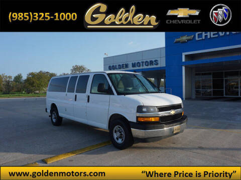 2020 Chevrolet Express Passenger for sale at GOLDEN MOTORS in Cut Off LA