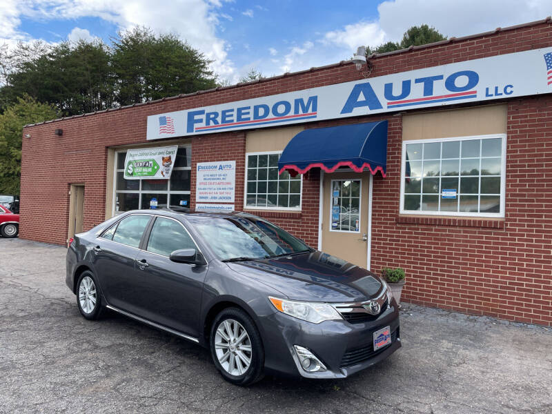 2012 Toyota Camry for sale at FREEDOM AUTO LLC in Wilkesboro NC