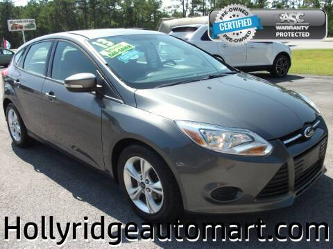 2013 Ford Focus for sale at Holly Ridge Auto Mart in Holly Ridge NC
