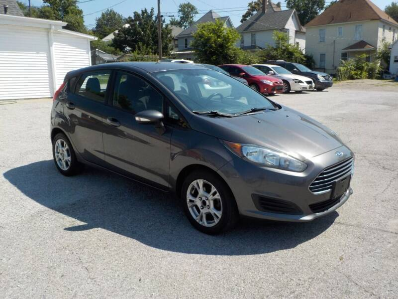 2015 Ford Fiesta for sale at SEBASTIAN AUTO SALES INC. in Terre Haute IN