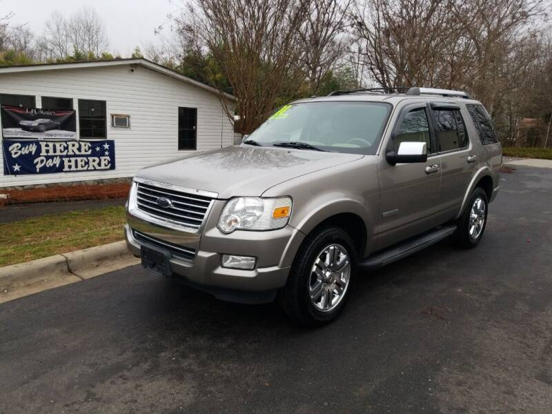 2008 Ford Explorer for sale at TR MOTORS in Gastonia NC