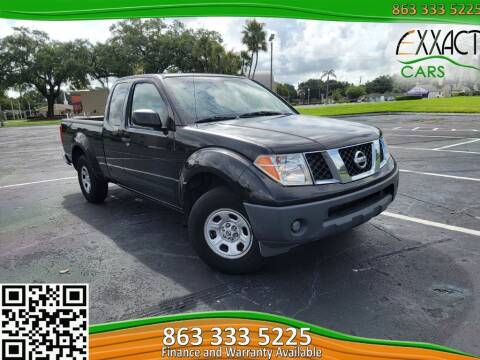 2005 Nissan Frontier for sale at Exxact Cars in Lakeland FL