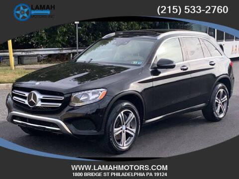 2016 Mercedes-Benz GLC for sale at LAMAH MOTORS INC in Philadelphia PA