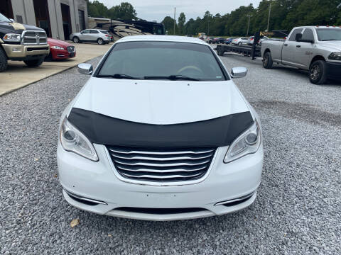 2011 Chrysler 200 Convertible for sale at Alpha Automotive in Odenville AL