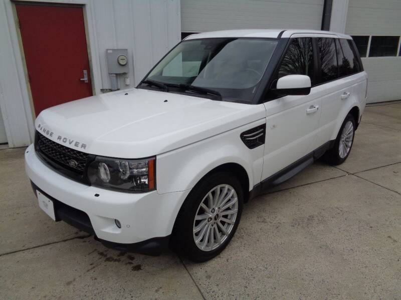 2012 Land Rover Range Rover Sport for sale at Lewin Yount Auto Sales in Winchester VA
