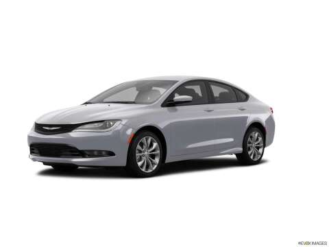 2015 Chrysler 200 for sale at SULLIVAN MOTOR COMPANY INC. in Mesa AZ