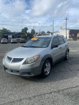 2003 Pontiac Vibe for sale at ARS Affordable Auto in Norristown PA