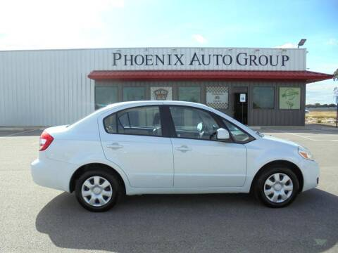 2011 Suzuki SX4 for sale at PHOENIX AUTO GROUP in Belton TX