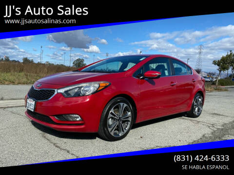 2014 Kia Forte for sale at JJ's Auto Sales in Salinas CA