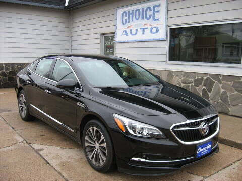 2017 Buick LaCrosse for sale at Choice Auto in Carroll IA