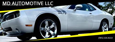 2009 Dodge Challenger for sale at MD AUTOMOTIVE LLC in Slidell LA